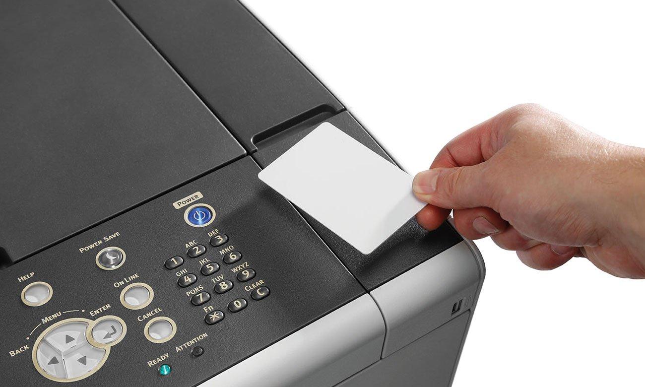 OKI C532dn Zabezpieczenia Card Release