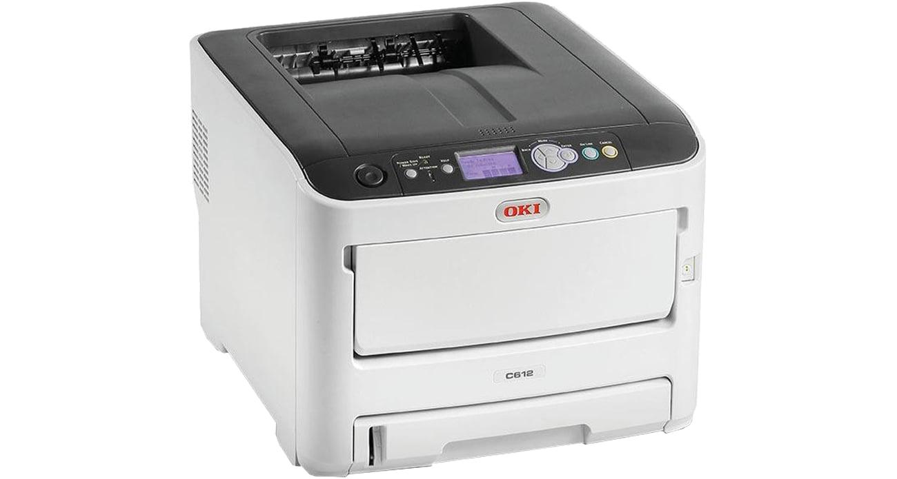 Drukarka laserowa kolorowa OKI C612dn 46551002