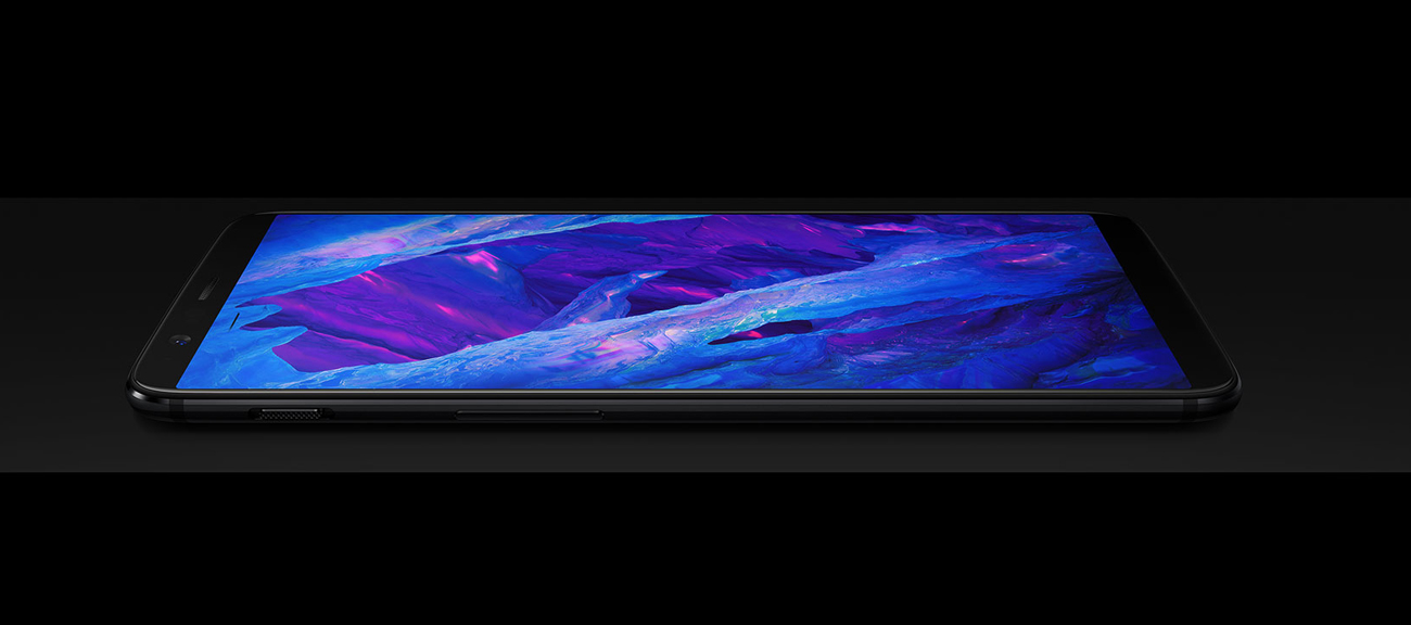 OnePlus 5T ekran 6 Full HD+ optic AMOLED