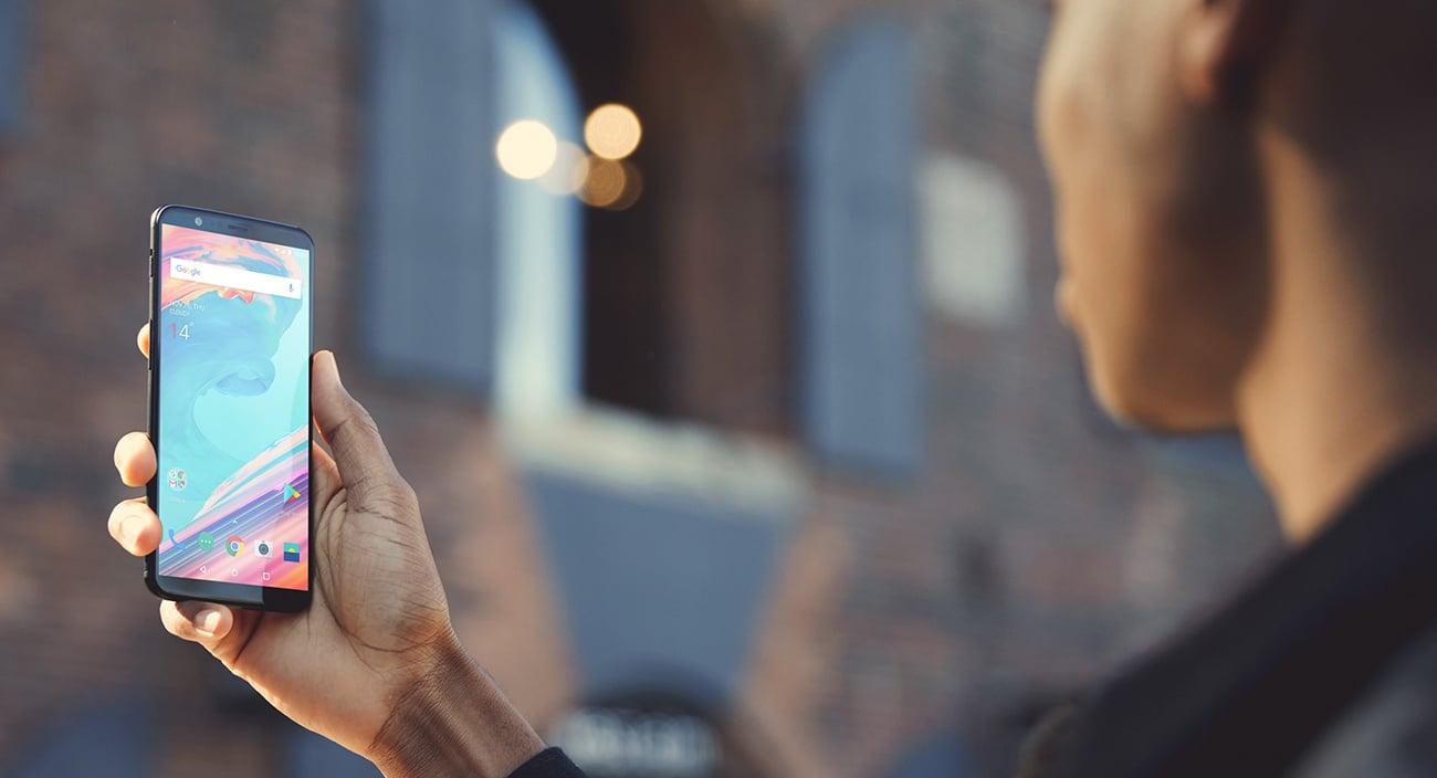 OnePlus 5T Czytnik linii papilarnych face unlock