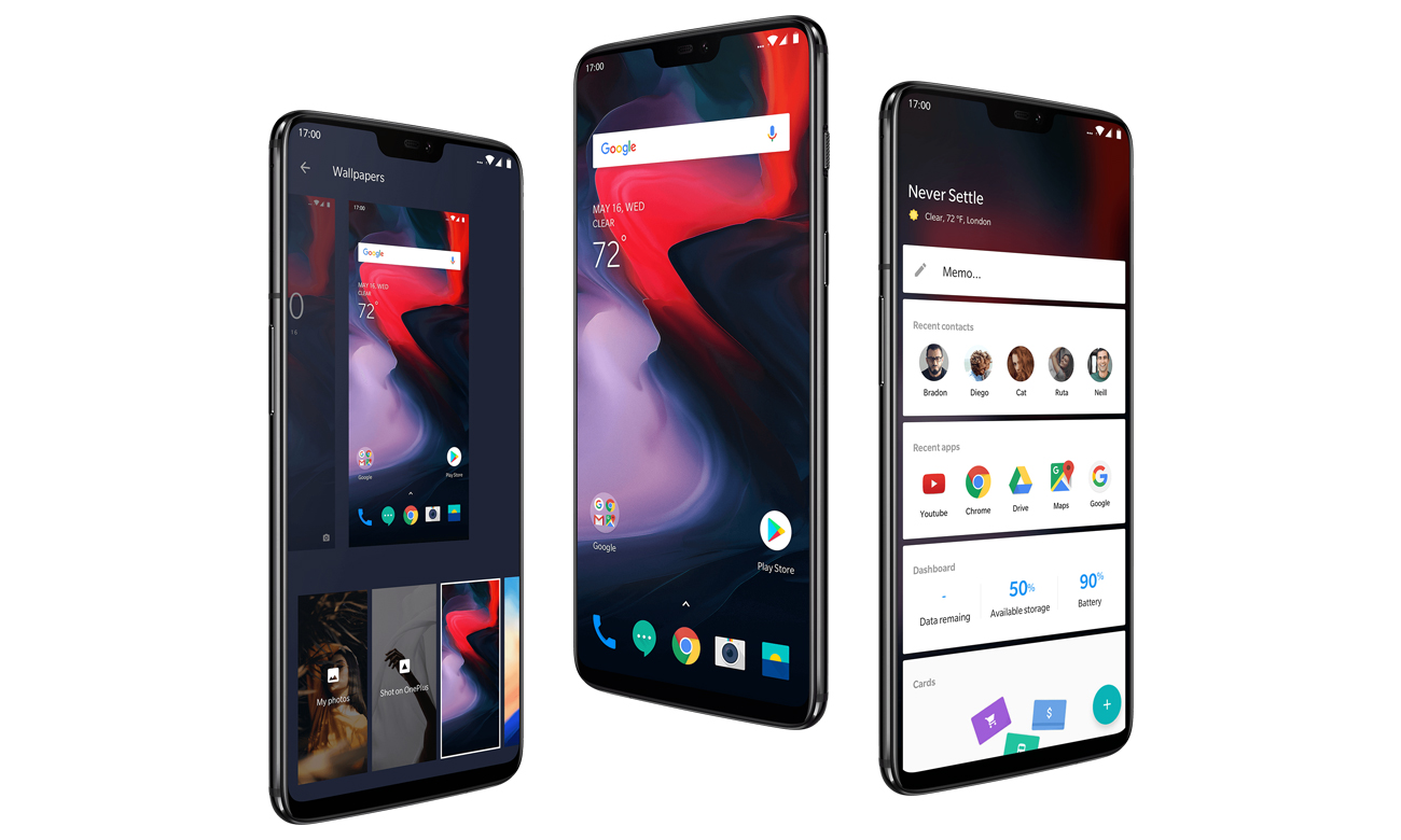 OnePlus 6 Android 8.1 oxygenOS