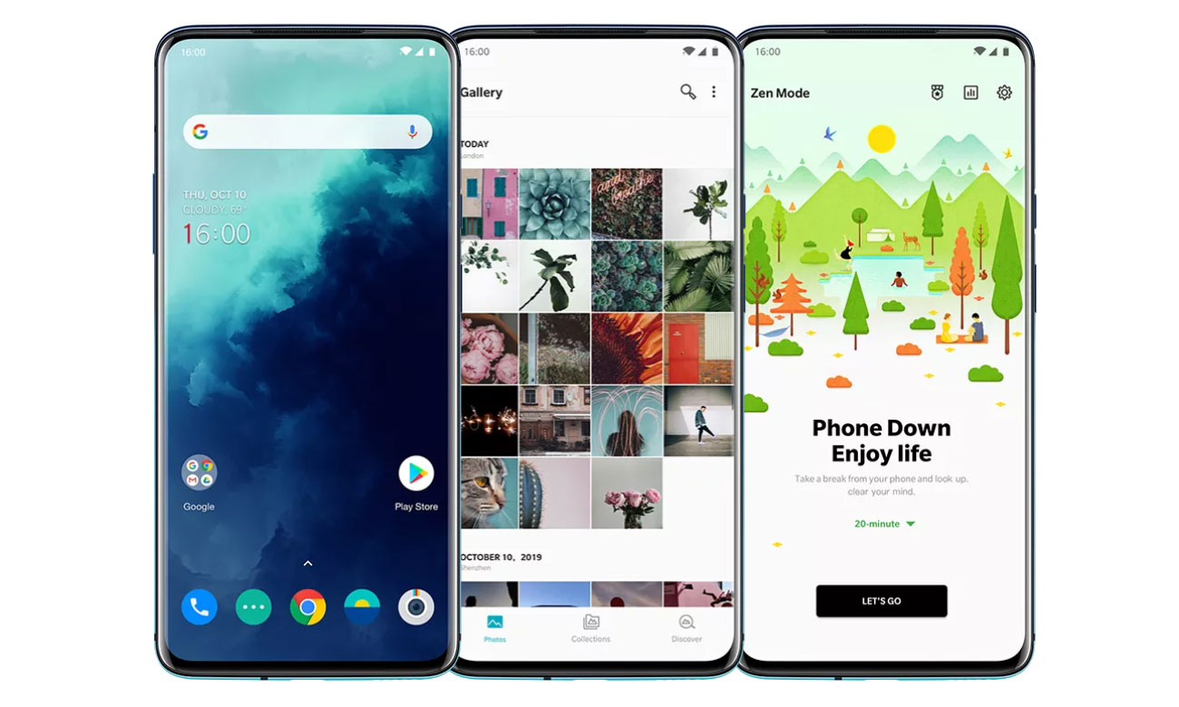 OnePlus 7T pro panoramiczny ekran 90 Hz