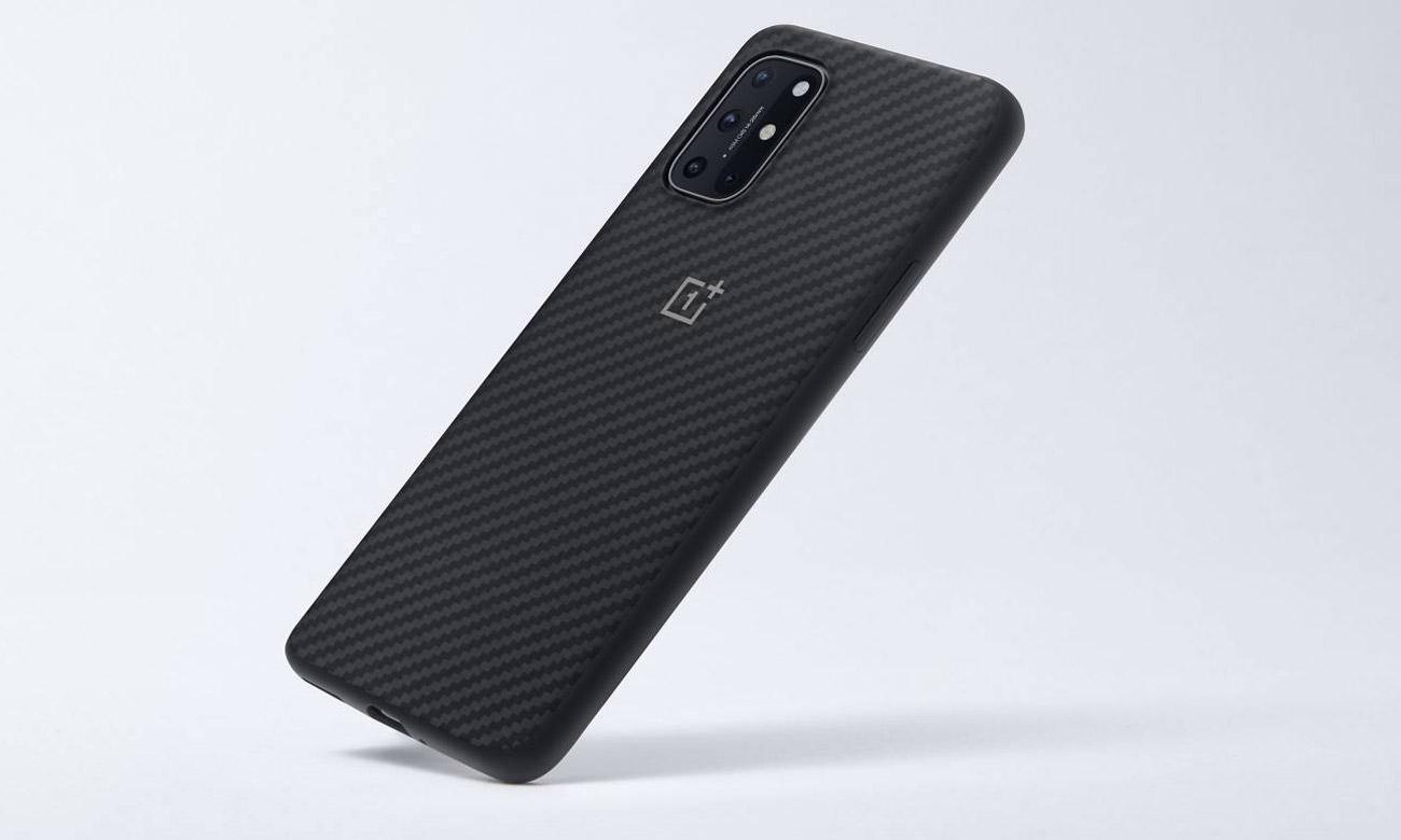 Etui Karbon Bumper Case do OnePlus 8T Czarne