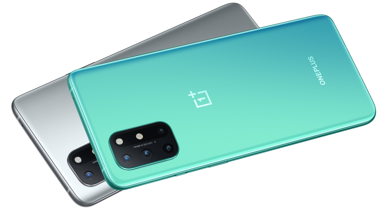 Smartfon OnePlus 8T 128 GB 5G Aquamarine Green 120 Hz