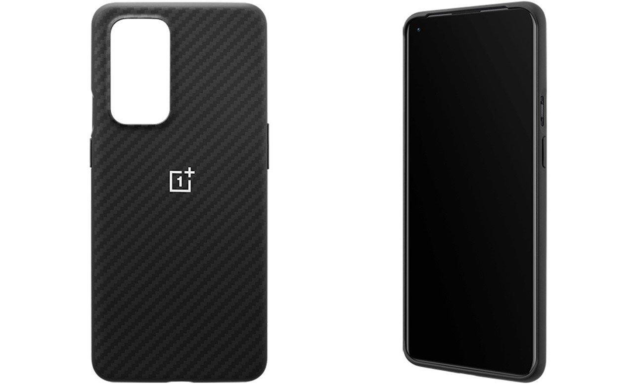 Etui Karbon Bumper Case do OnePlus 9 Pro Czarne