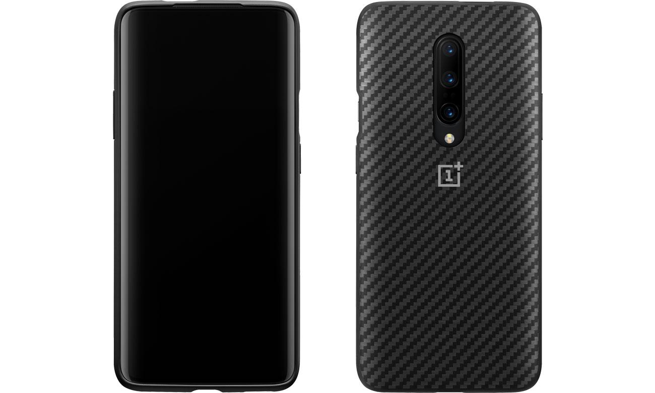 Etui/obudowa na smartfona Karbon Bumper Case do OnePlus 7 Pro