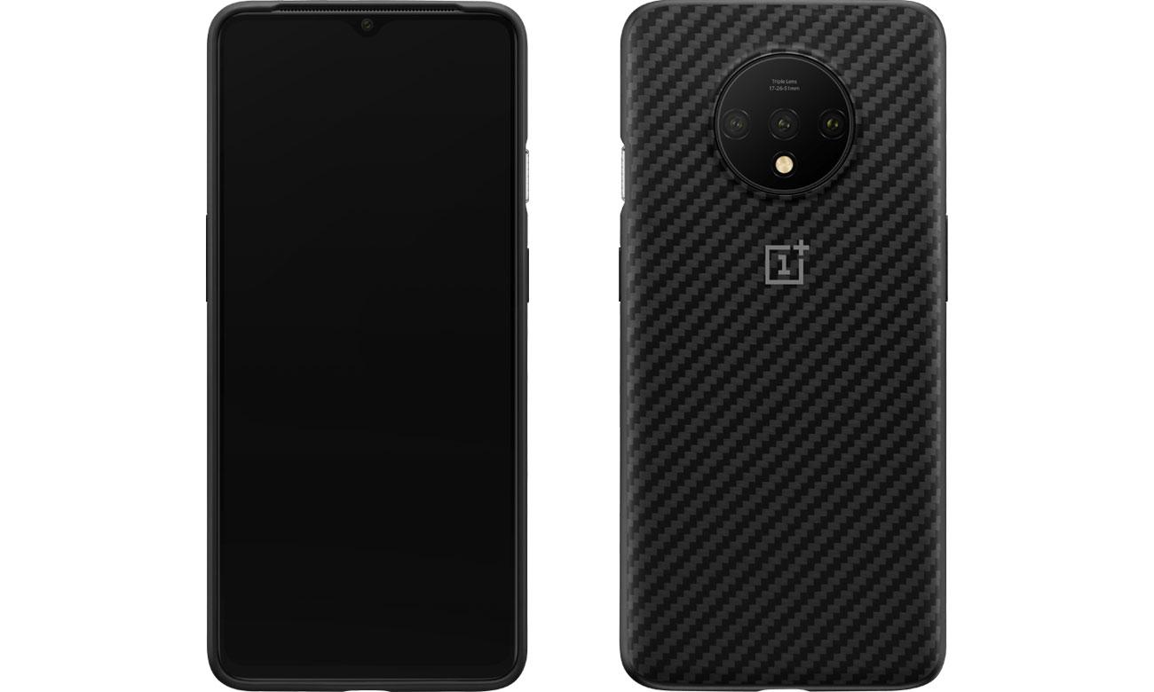 Etui/obudowa na smartfona Karbon Bumper Case do OnePlus 7T