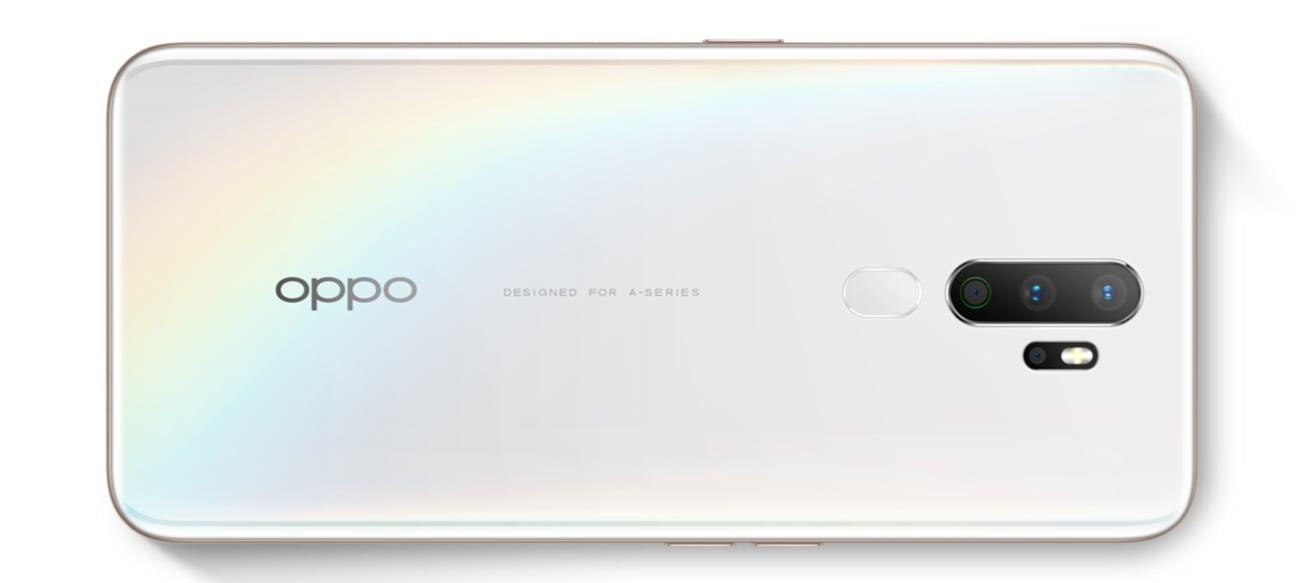 OPPO A5 (2020) cztery obiektywy eis bokeh