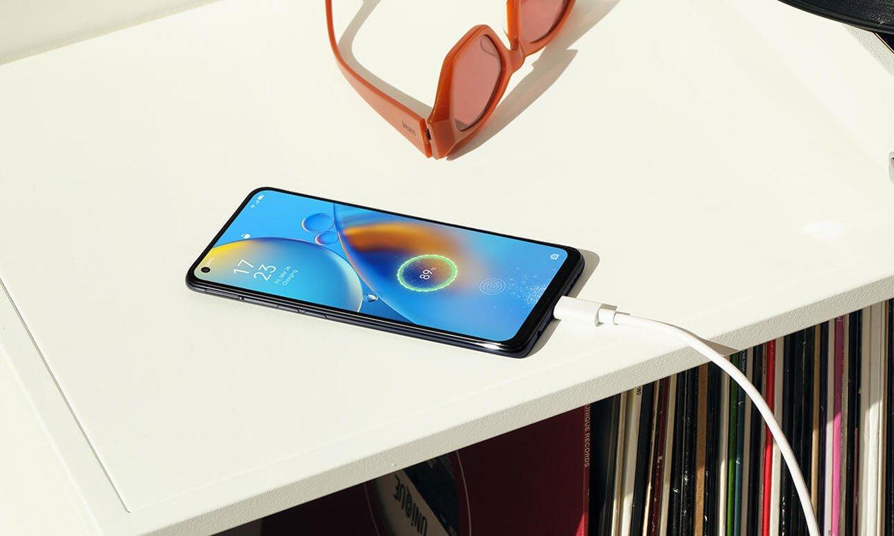 Smartfon OPPO A74 Bateria i szybkie ładowanie