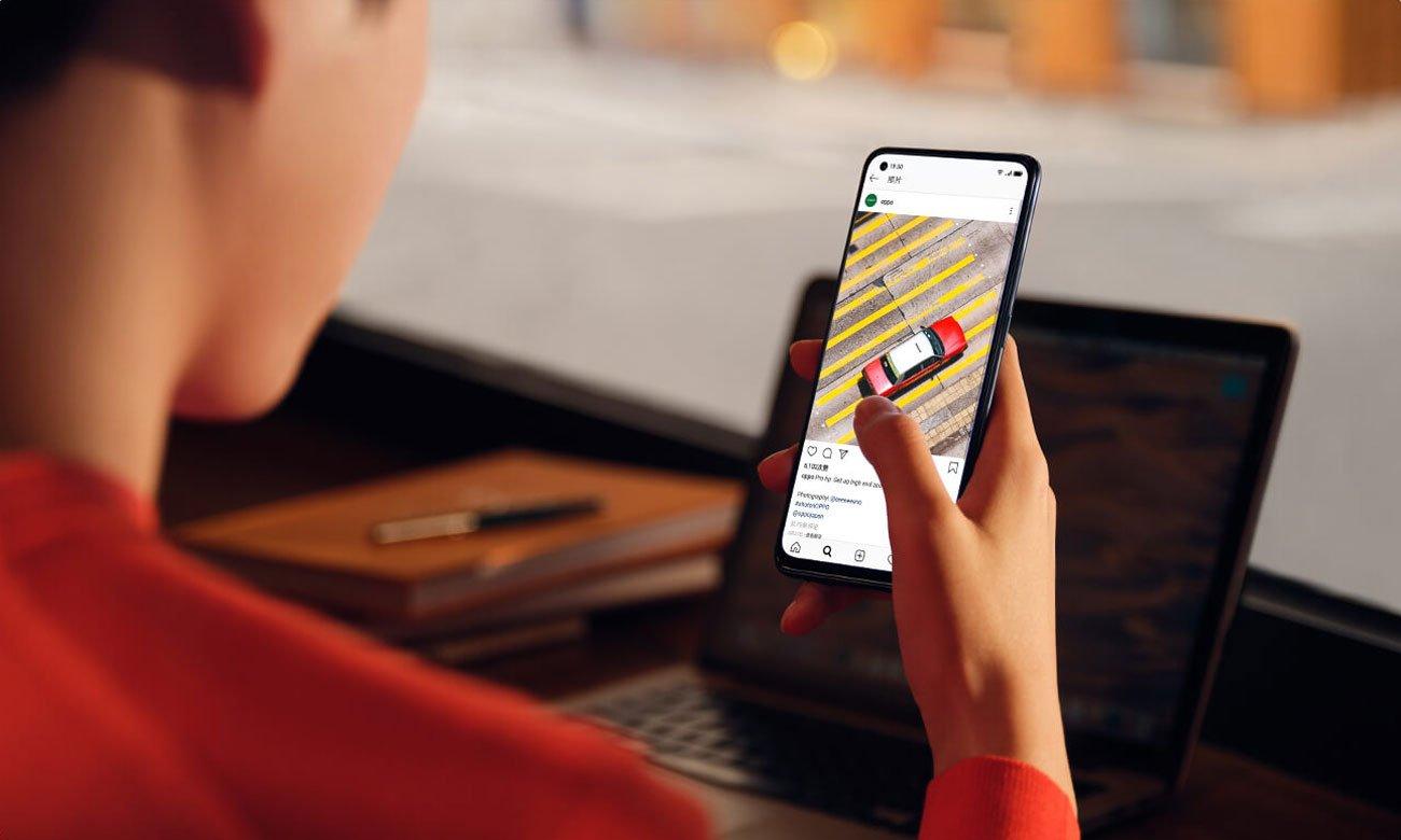 Smartfon OPPO A74 aparat