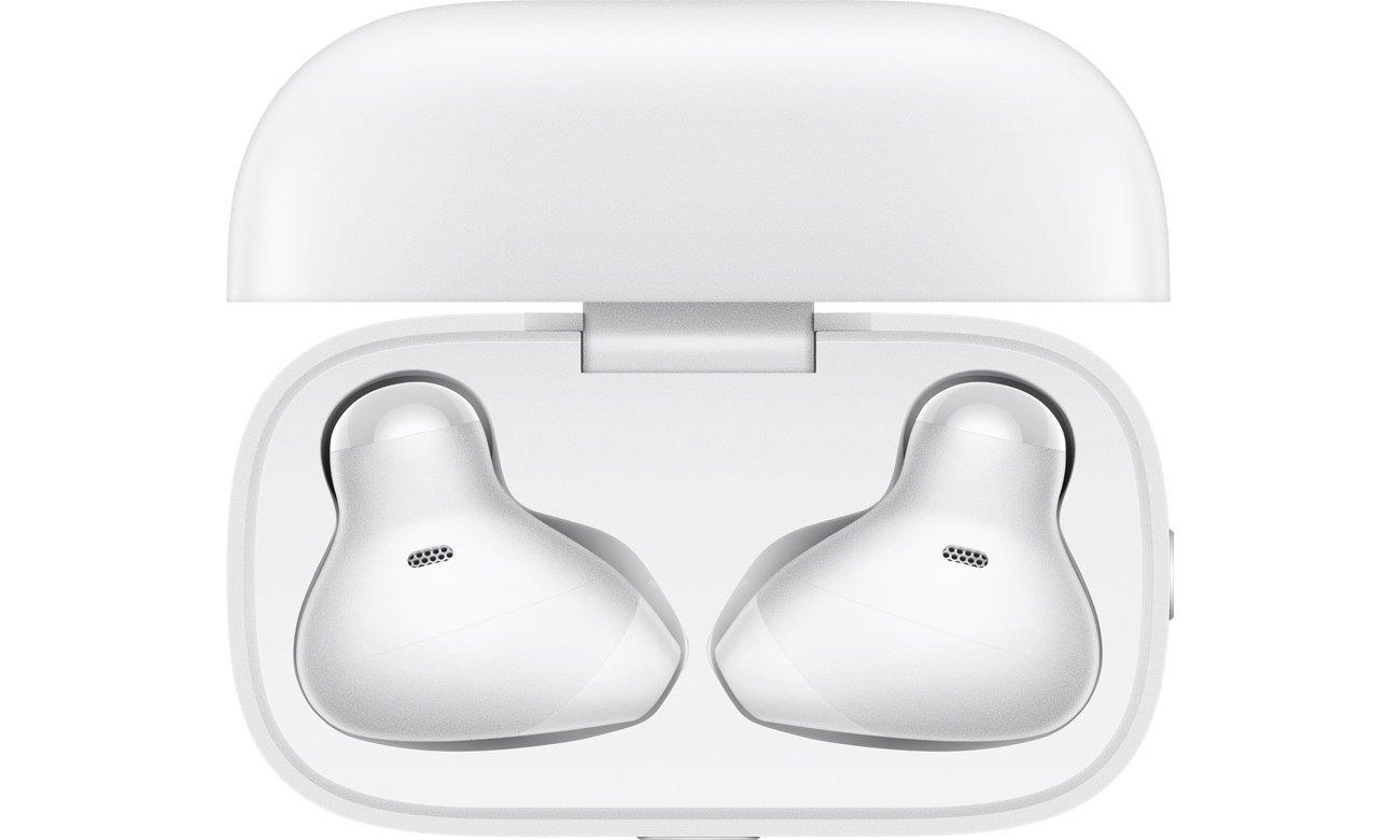 Prawdziwie bezprzewodowe słuchawki OPPO Enco Free Białe