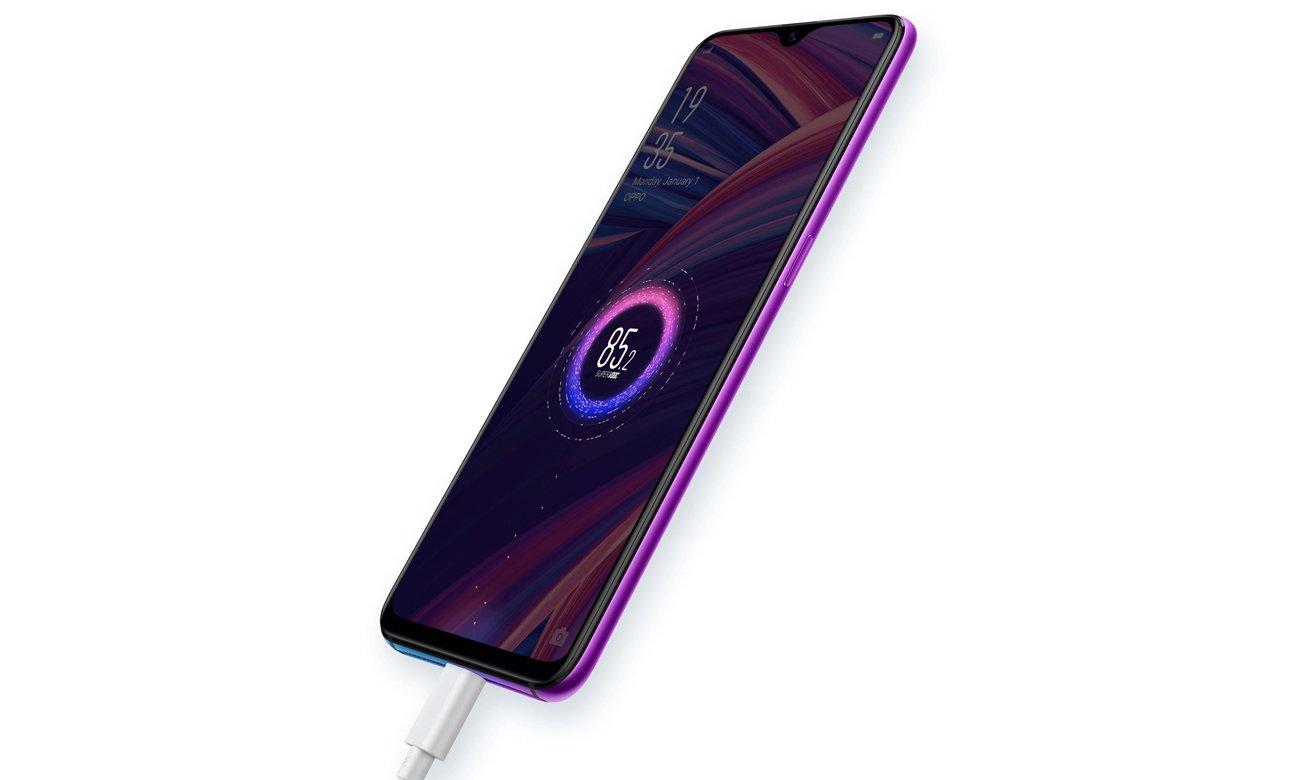 Oppo RX17 Pro podwójna bateria z ładowaniem superVOOC