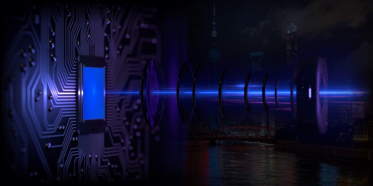 Oppo RX17 Pro aparat do zdjęc nocnych zmienna przysłona