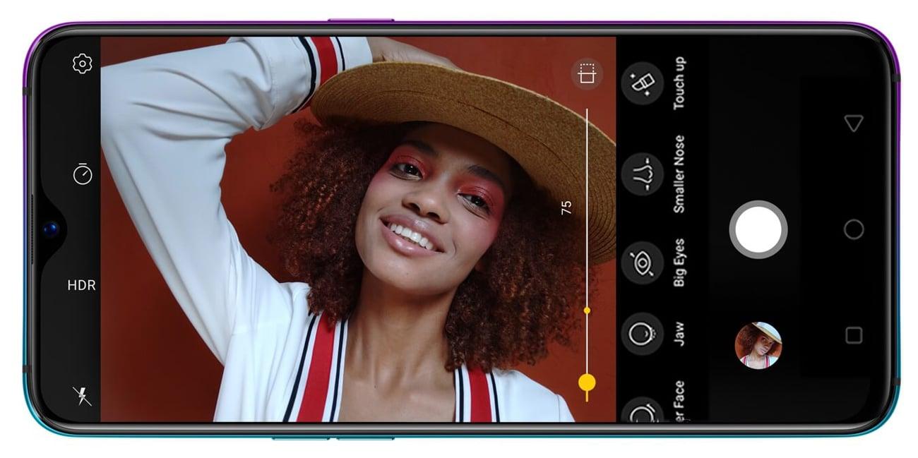 Oppo RX17 Pro inteligentna kamera selfie