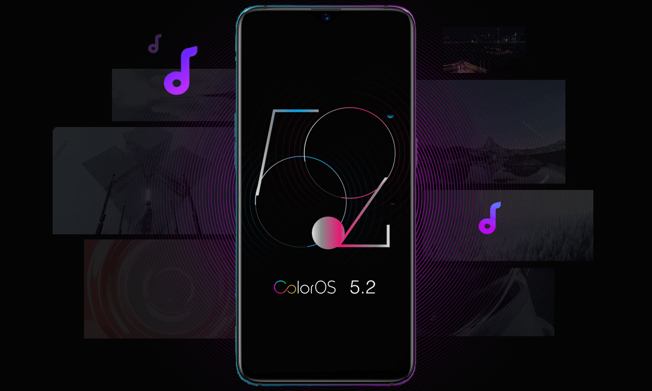 Oppo RX17 Pro nowoczesny android color os