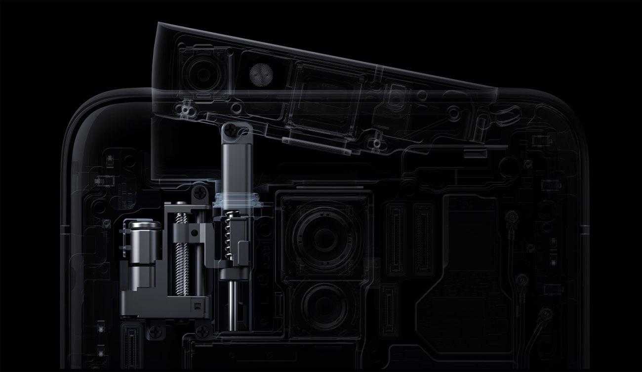 Oppo Reno mechanicznie unoszony aparat selfie