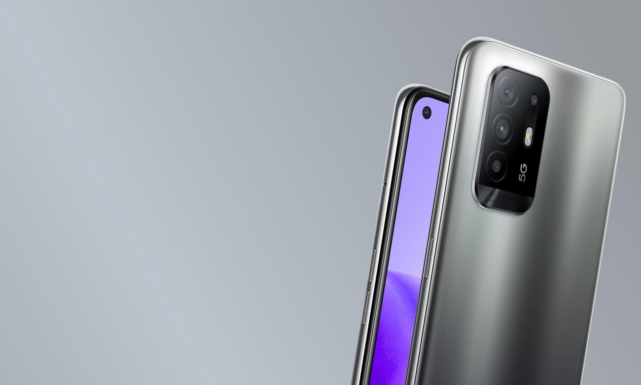 Tylny aparat pokryty szkłem Gorilla Glass 5