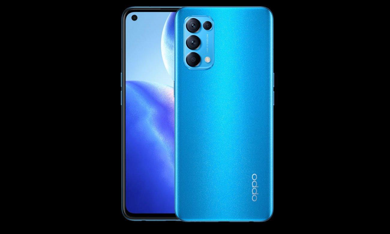 Smartfon OPPO Reno5 5G obudowa i obiektywy