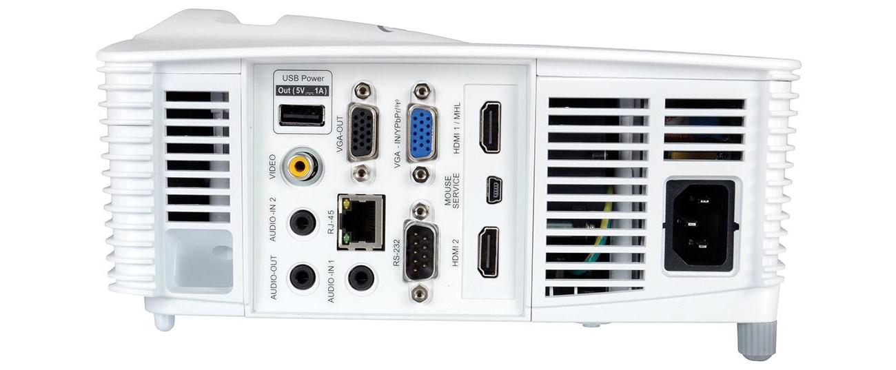 Optoma DU400 DLP Włącznik