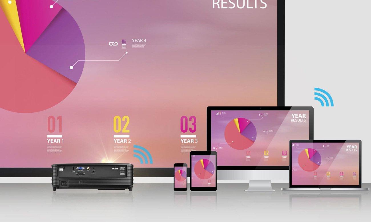 Prezentacje bezprzewodowe Windows, MacOS, Android i iOS