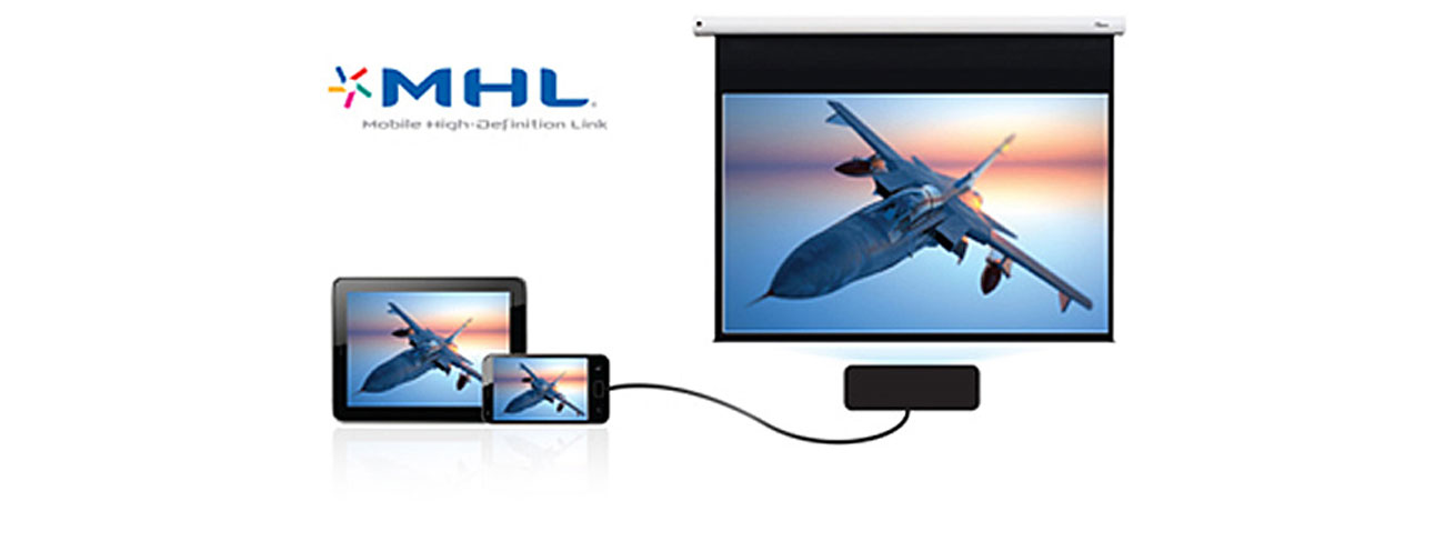 Optoma EH200ST DLP Łączność MHL