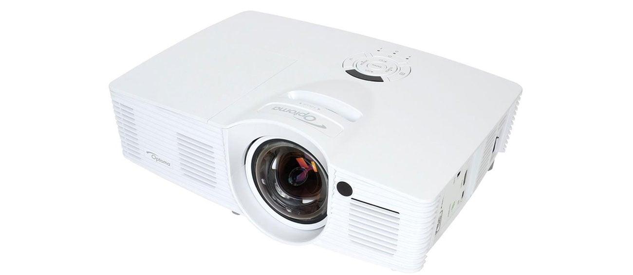 Optoma GT1070XE DLP obraz najwyższa rozdzielczość