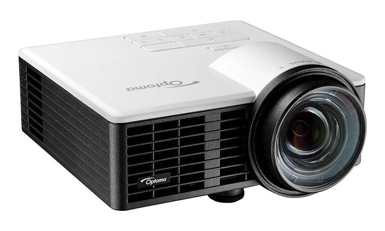 Optoma ML1050ST DLP Ultra kompaktowy projektor LED krótkiego rzutu