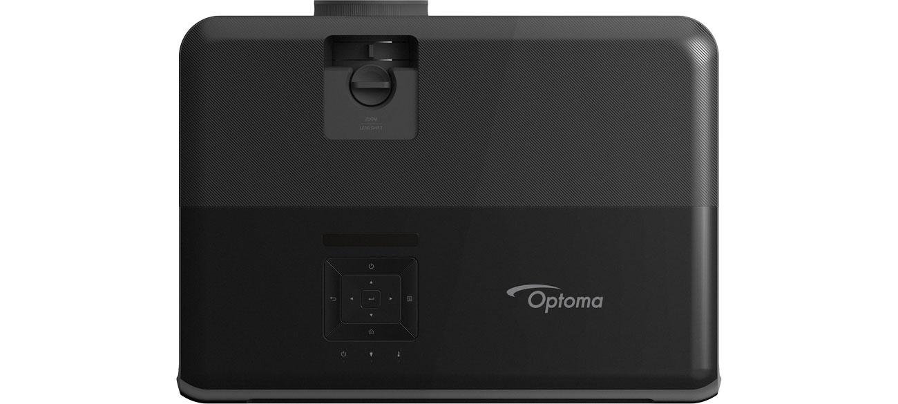 Optoma UHD350X Widok z góry, sterowanie
