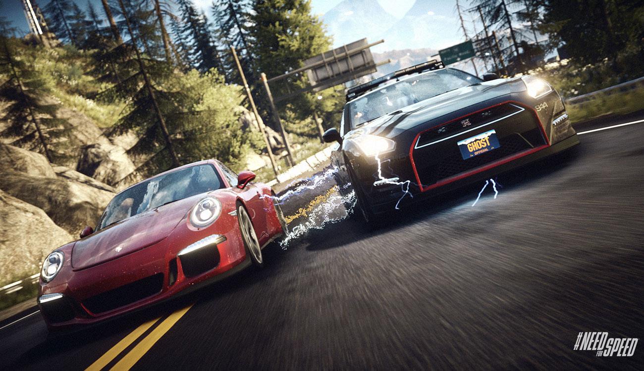 Need for Speed: Rivals rywalizacja