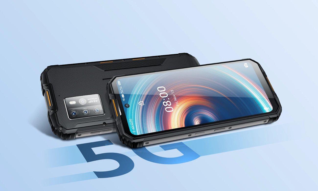 Smartfon OUKITEL WP10 8/128GB 8000mAh 5G czarny