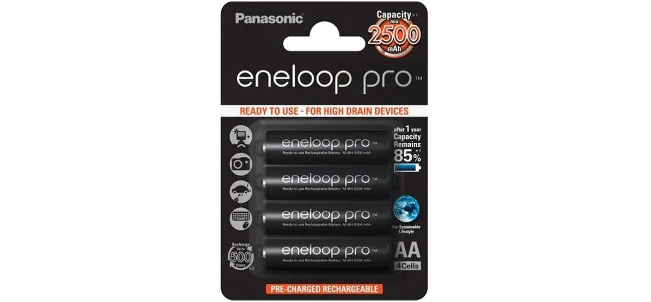 Akumulator Panasonic Eneloop Pro R6/AA 2500 mAh 4 szt. Blister BK-3HCDE-4BE