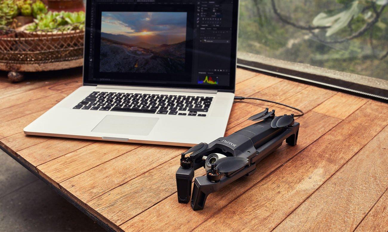Zasilanie drona Parrot ANAFI