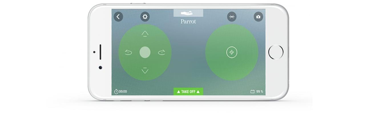 Dron Parrot Swing + kontroler Aplikacja FreeFlight