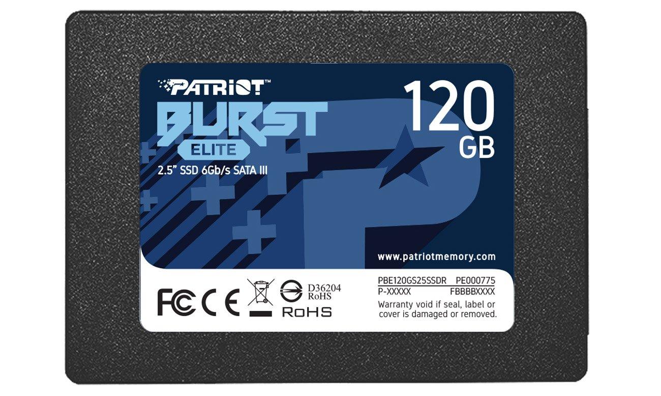 Dysk SSD Patriot Burst Elite 2,5'' 120GB