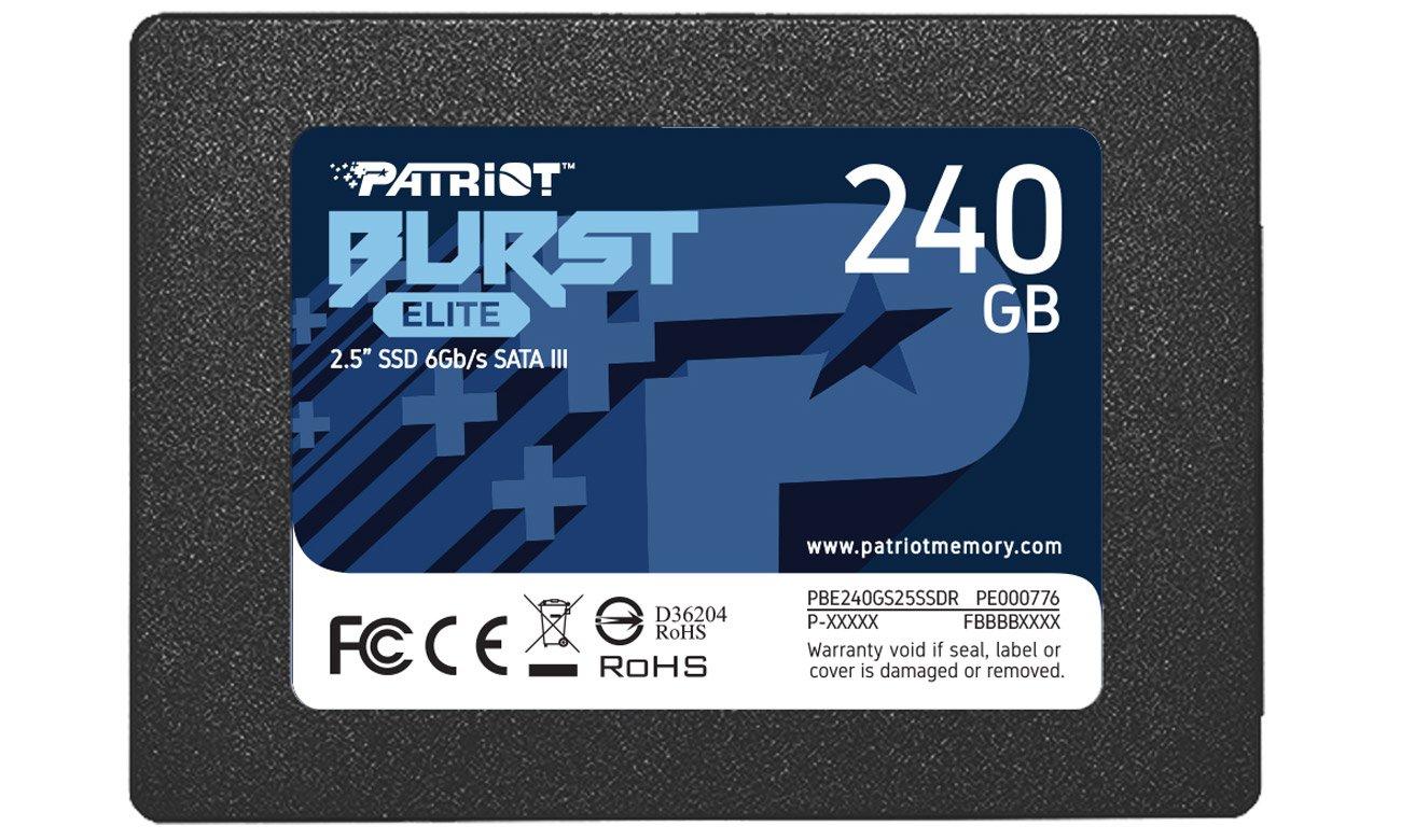 Dysk SSD Patriot Burst Elite 2,5'' 240GB