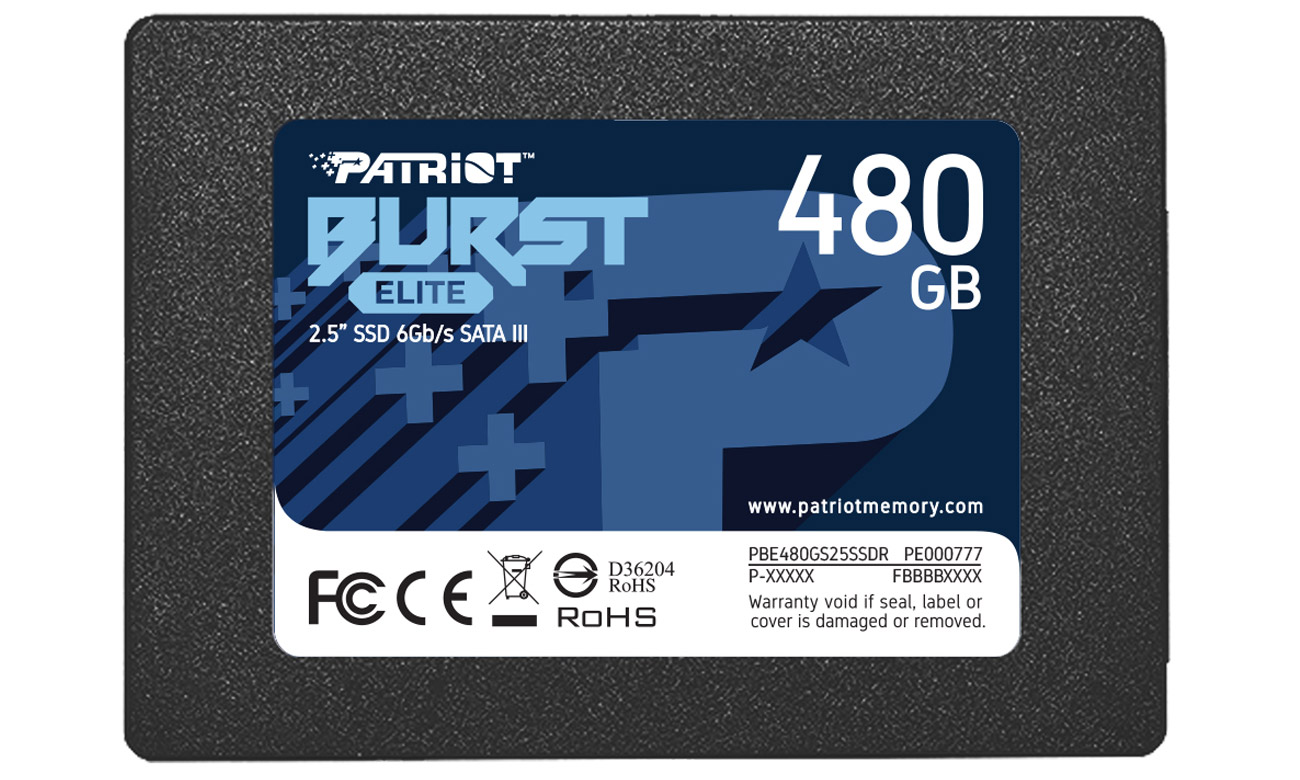 Dysk SSD Patriot Burst Elite 2,5'' 480GB