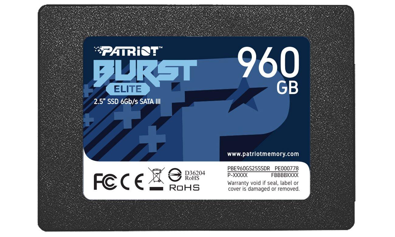 Dysk SSD Patriot Burst Elite 2,5'' 960GB