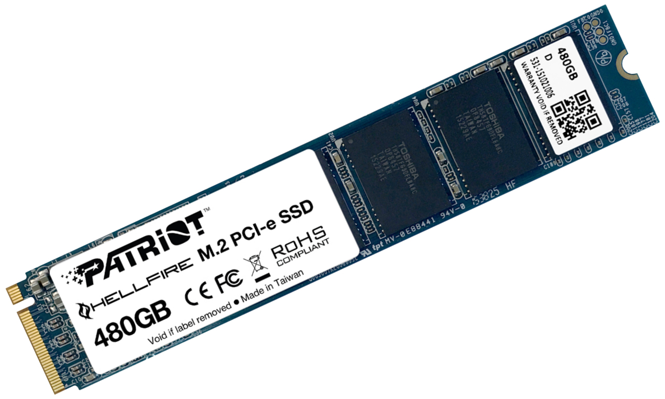 Patriot Hellfire M.2 SSD 480GB