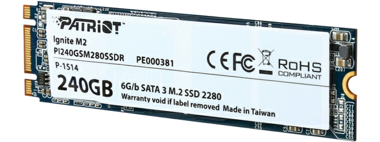 Patriot  240GB M.2 SATA SSD 2280