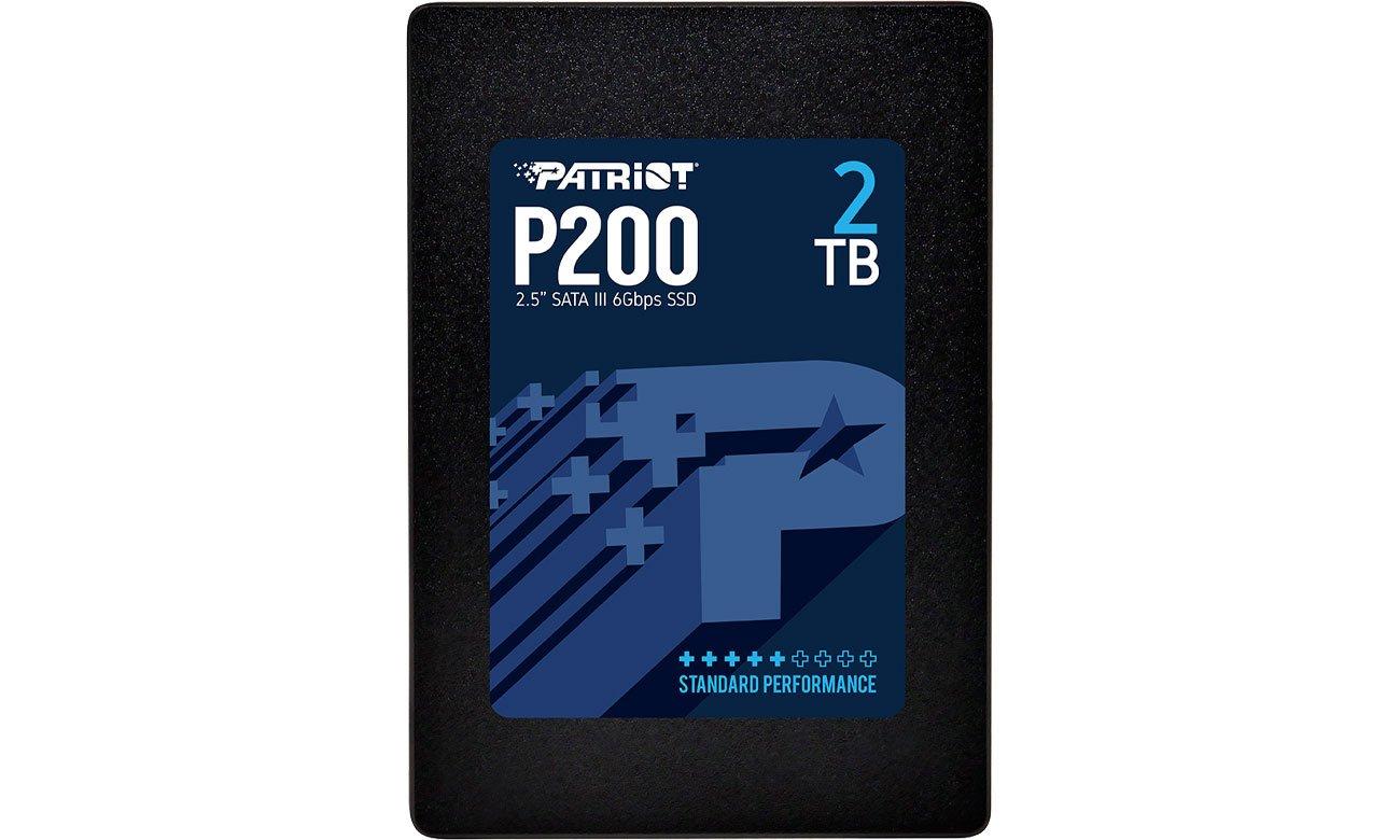 Dysk SSD Patriot 2TB 2,5'' P200 SATA SSD