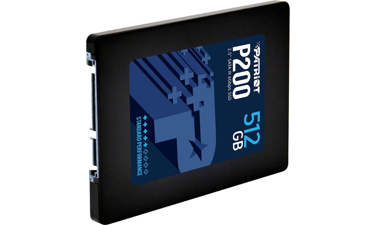 Patriot P200 512GB - Interfejs SATA III
