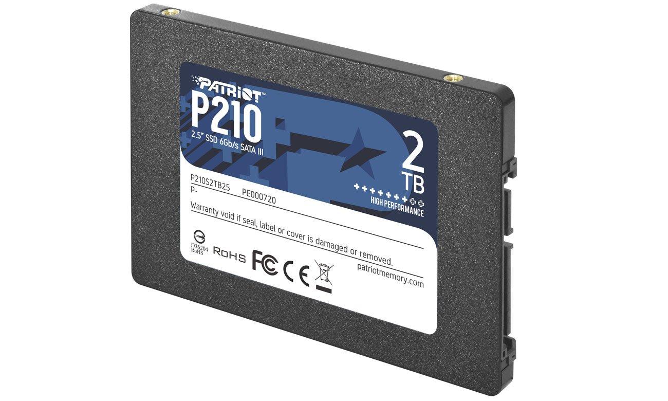 Dysk SSD 2,5'' Patriot P210 2 TB