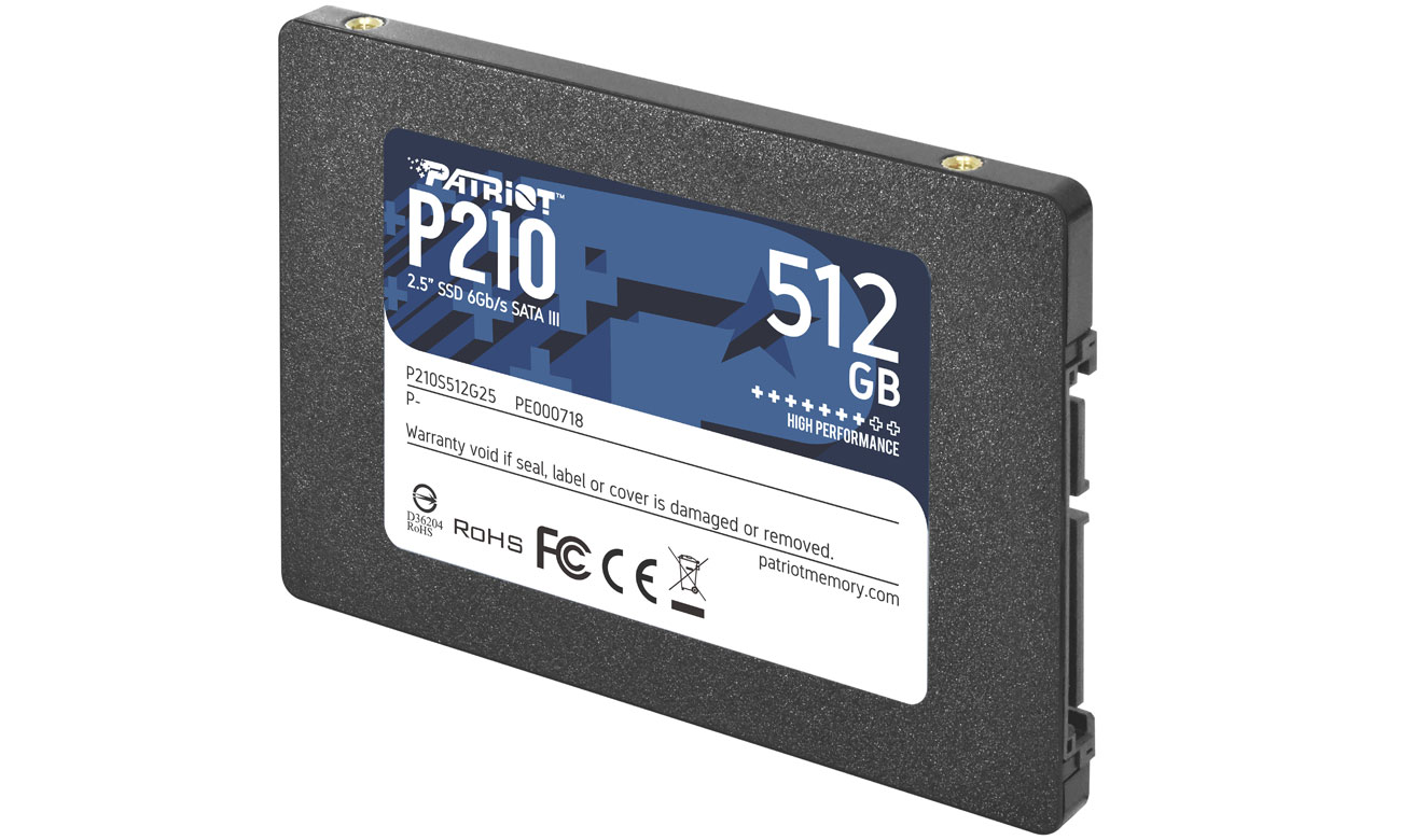 Dysk SSD 2,5'' Patriot P210 512 GB