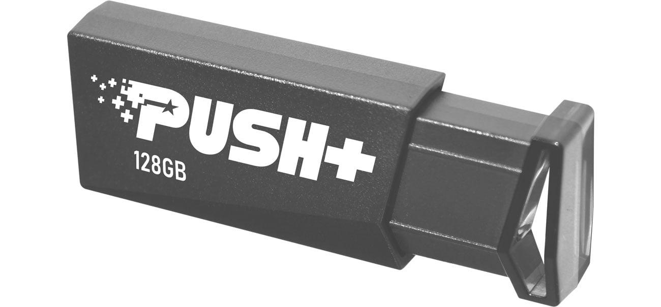 Pendrive (pamięć USB) Patriot 128GB PUSH+ (USB 3.2) PSF128GPSHB32U