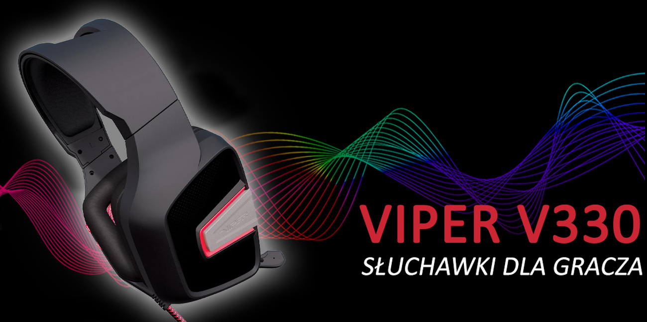 Słuchawki dla gracza Patriot Viper V330