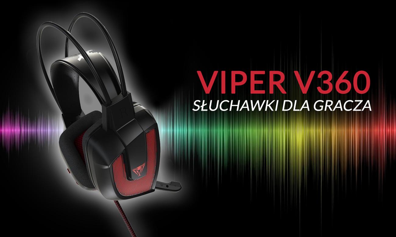 Słuchawki dla gracza Patriot Viper V360 Virtual 7.1