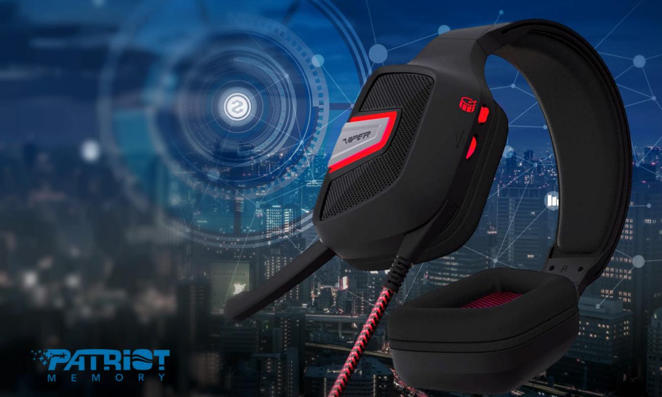 Słuchawki dla graczy Patriot Viper V361 Virtual 7.1 PV3617UMLK