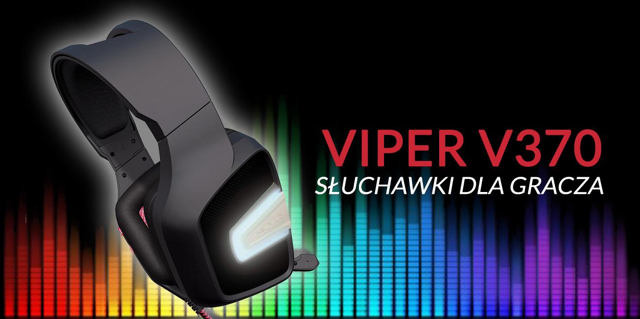 Słuchawki dla gracza Patriot Viper V370