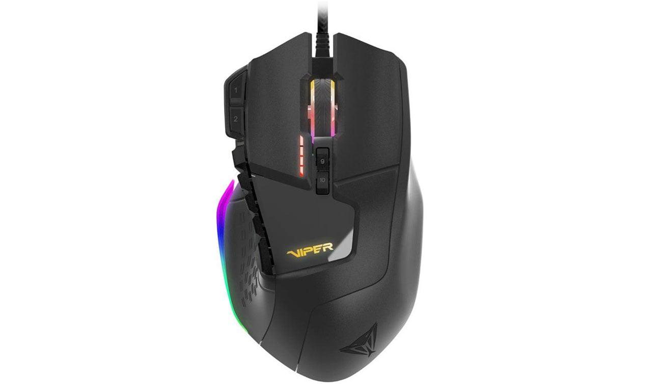 Patriot Viper V570 RGB Przełączniki Omron