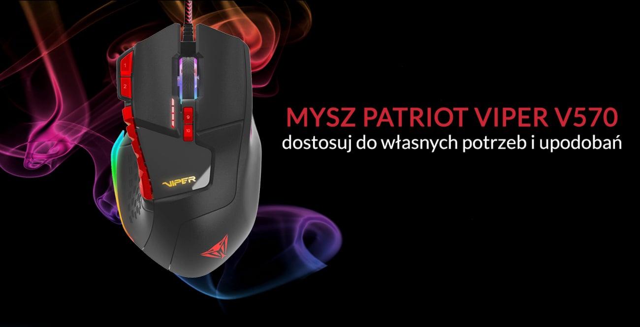 Mysz laserowa Patriot Viper V570 RBG